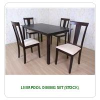 LIVERPOOL DINING SET (STOCK)